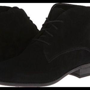 """Franco Sarto """"eddy"""" boots in black (no laces)"""